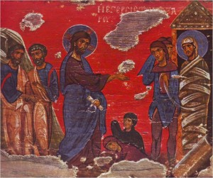 Lazarus of Bethany icon